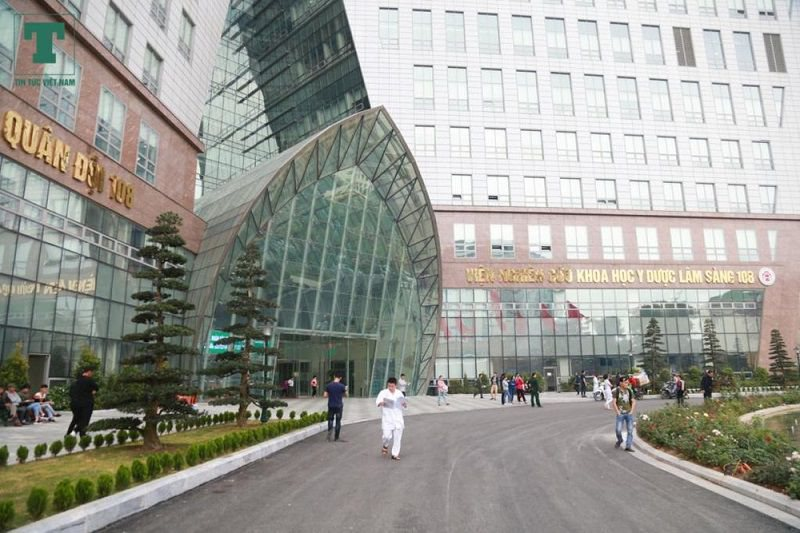 Bệnh viện 108 là nơi điều trị bệnh dạ dày cho quân dân và các đối tượng khác