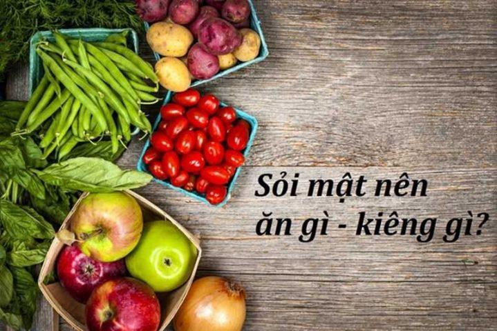 Chế độ ăn uống giúp ngăn ngừa sỏi phát triển