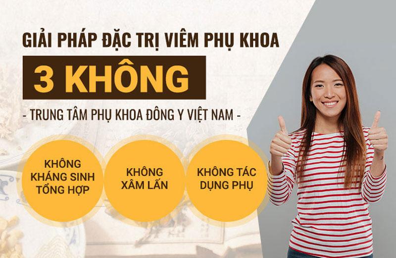 Giải pháp điều trị viêm lộ tuyến tự nhiên từ Trung tâm Phụ khoa Đông y Việt Nam