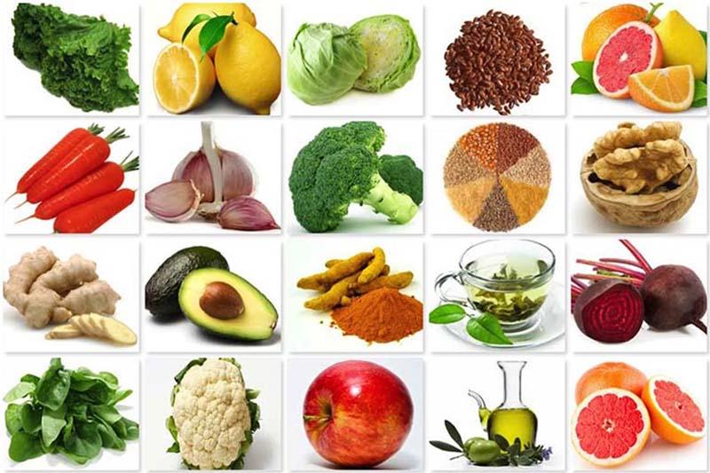 Một chế độ ăn cân bằng giúp bệnh nhân nâng cao hệ miên dịch để chống chọi với bệnh tật