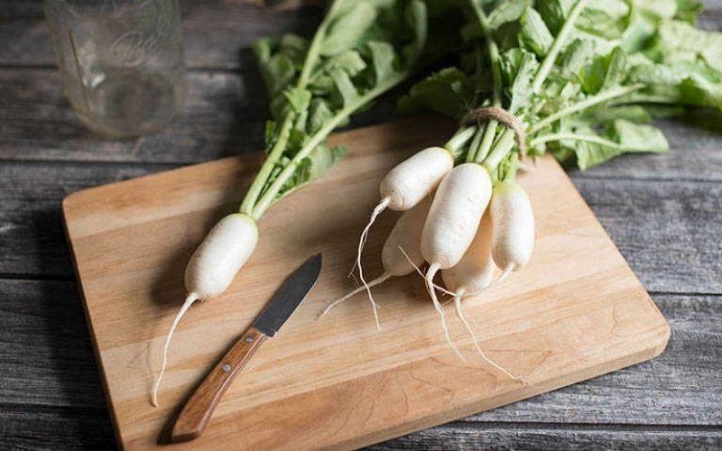 Ăn nhiều củ cải giúp cơ thể giảm nguy cơ mắc bệnh tim, đục thủy tinh thể và suy thận cấp