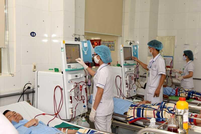 Lọc máu là phương pháp thường được chỉ định cho bệnh nhân suy thận