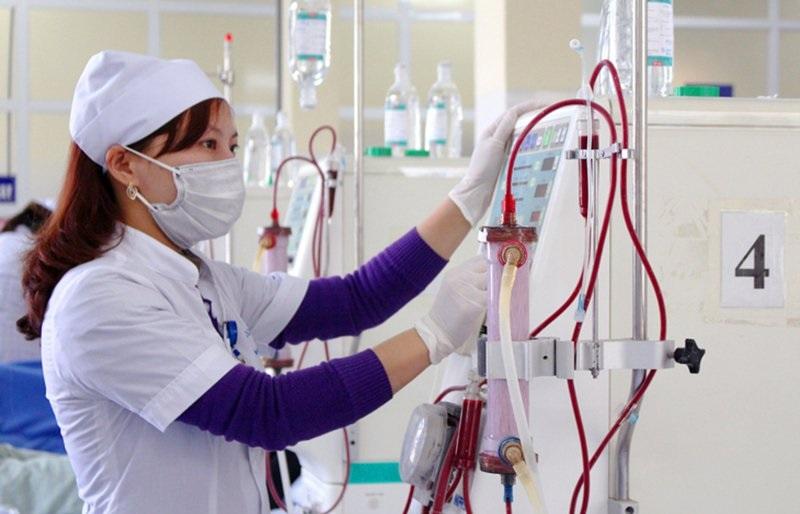 Lọc máu được nhiều người lựa chọn khi điều trị thận suy trước thận