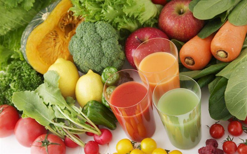 Rau củ, trái cây là một trong những thực phẩm có ích người bệnh không nên bỏ qua sau khi tán sỏi