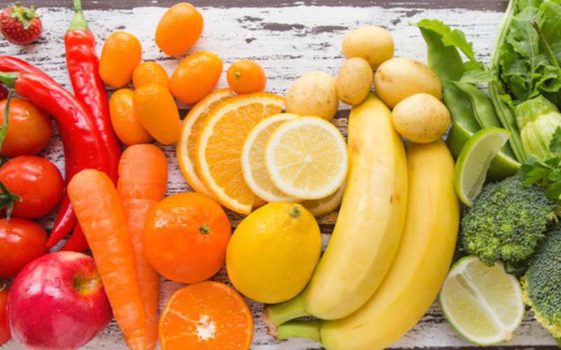 Các loại rau, củ là nhóm thực phẩm chứa nhiều caroten