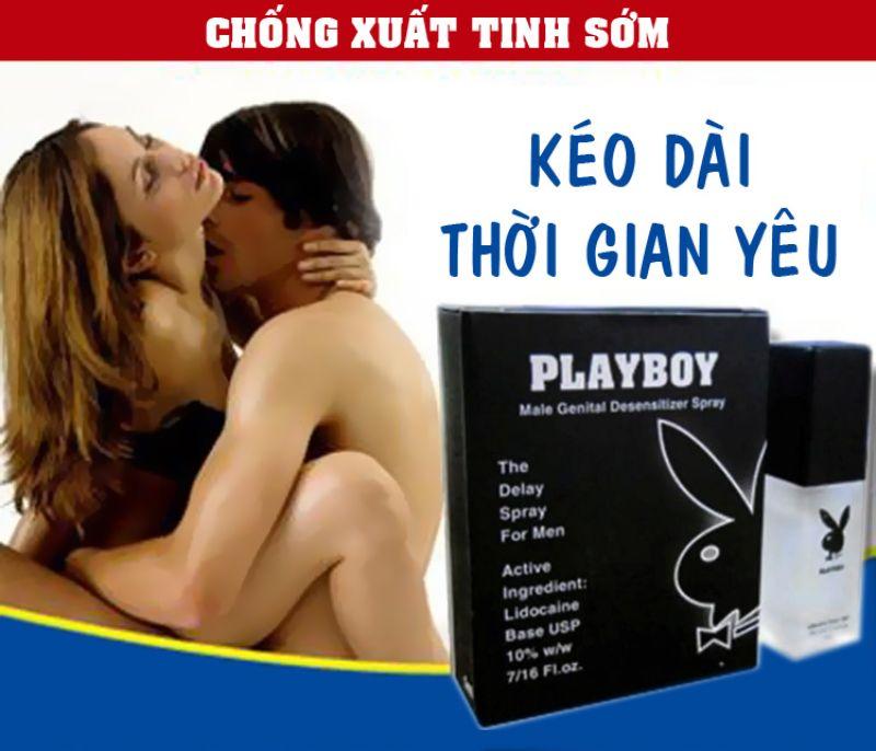 Playboy - Thuốc chống xuất tinh sớm của Mỹ được nhiều người ưa chuộng