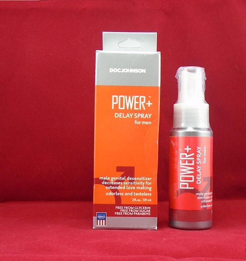 Power Delay Spray cho cậu nhỏ thêm dũng mãnh