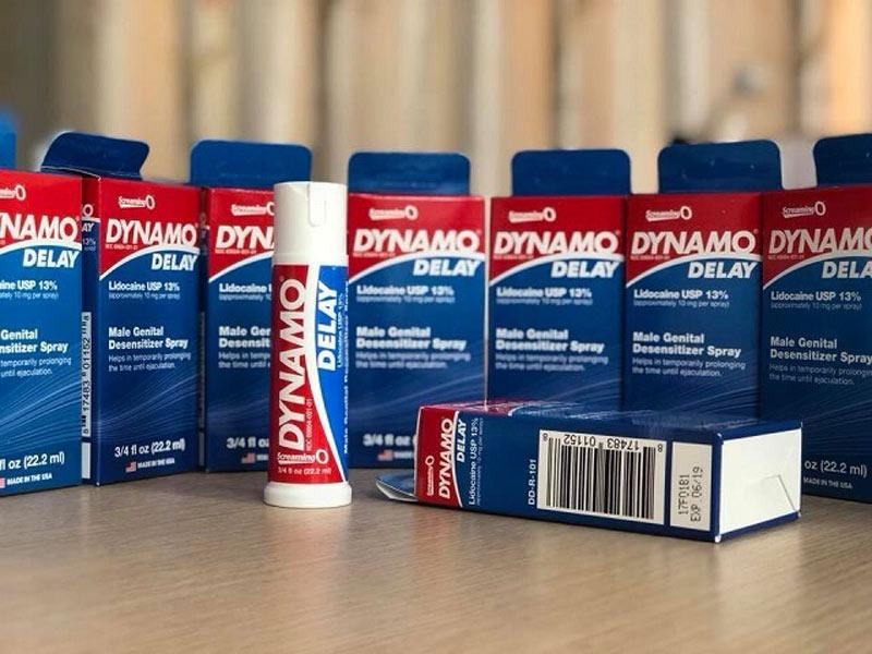 Thuốc chống xuất tinh sớm Dynamo Delay Hoa Kỳ