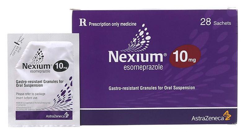 Dùng thuốc Nexium chữa đau dạ dày cho trẻ em