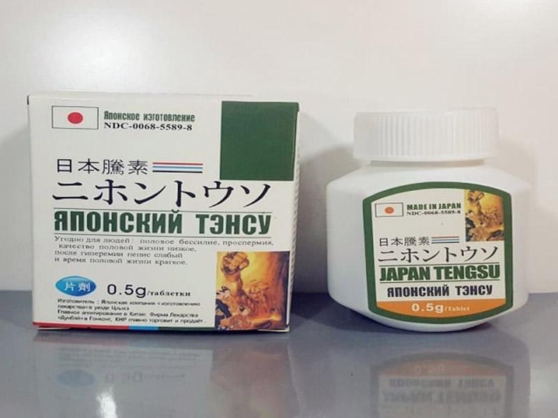 Thuốc điều trị xuất tinh sớm Japan Tengsu được khá nhiều đàn ông ưa chuộng