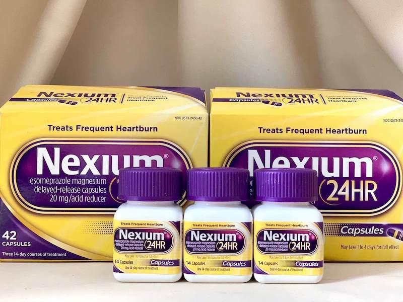 Nexium có tác dụng giảm tiết acid ngăn ngừa nguy cơ trào ngược dạ dày