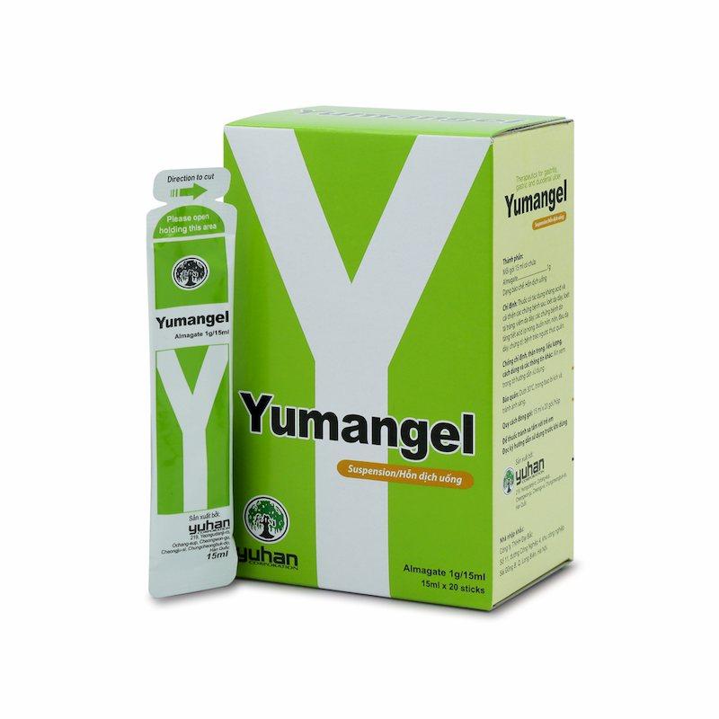 Yumangel - Thuốc trào ngược dạ dày cho bé nên dùng