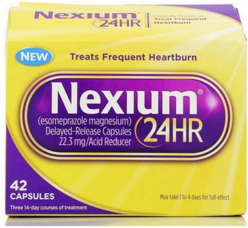 Giảm nhanh các triệu chứng bệnh nhờ thuốc dạ dày Nexium của Mỹ