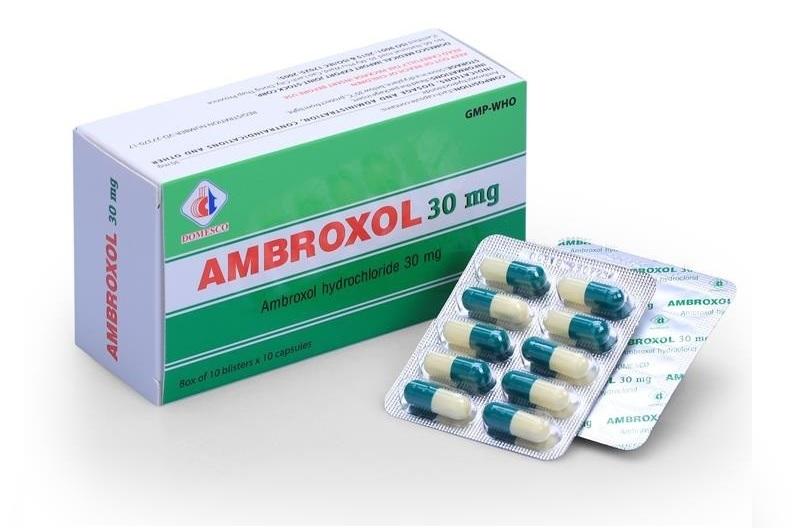Ambroxol là một hoạt chất chuyển hóa của Bromhexin thuộc nhóm thuốc Tây giúp giảm đờm hiệu quả