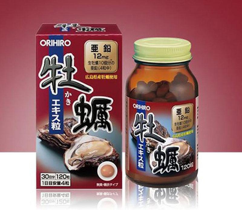 Tinh chất hàu tươi Orihiro của Nhật giúp cậu nhỏ làm chủ cuộc yêu hơn