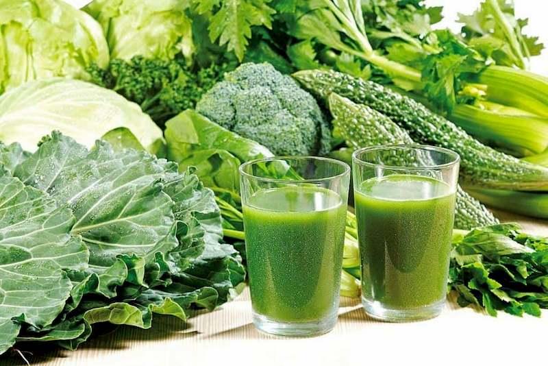 Ép nước uống - Cách bổ sung dinh dưỡng từ rau tốt nhất