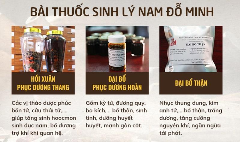 Thành phần, công dụng bài thuốc chữa yếu sinh lý 150 năm của Đỗ Minh Đường