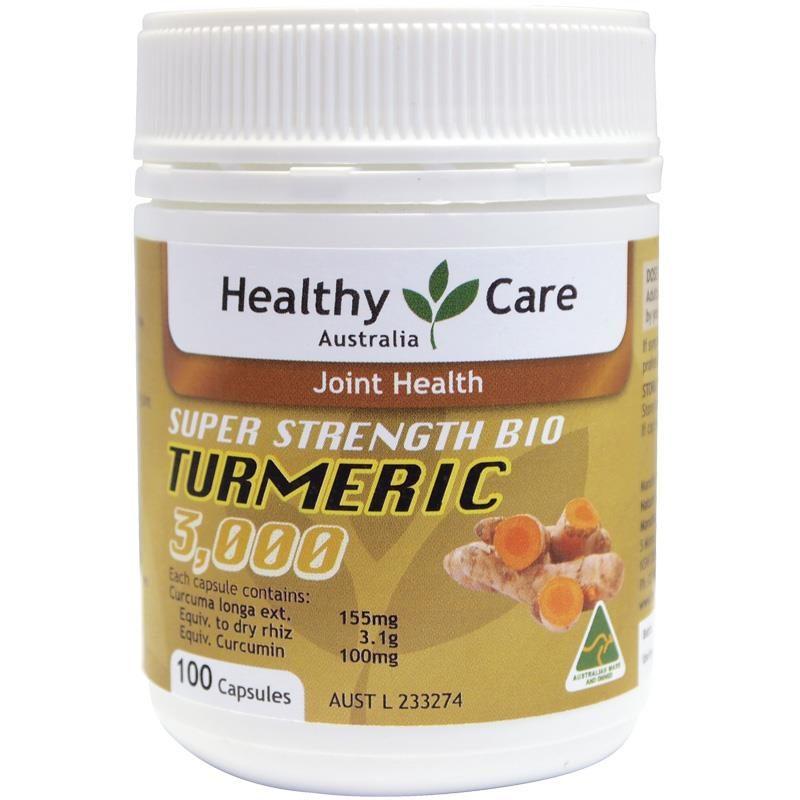 Viên uống tinh chất nghệ Healthy Care Turmeric 3000
