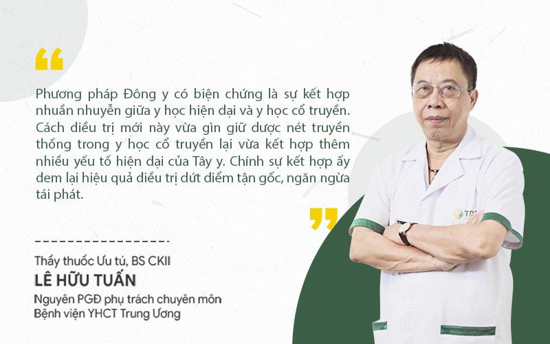 Thầy thuốc ưu tú Lê Hữu Tuấn đánh giá cao giải pháp Xương khớp Quân Dân 102