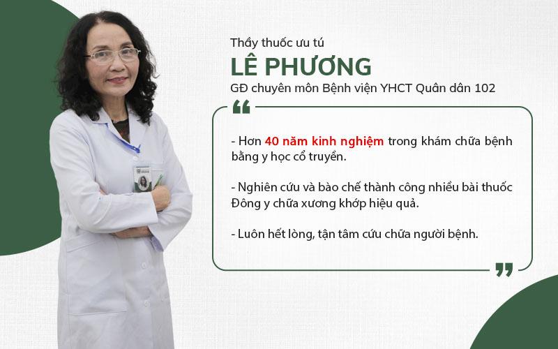 Bác sĩ Lê Phương là người thầy thuốc vừa có tâm vừa có tầm, cứu chữa nhiều người bệnh