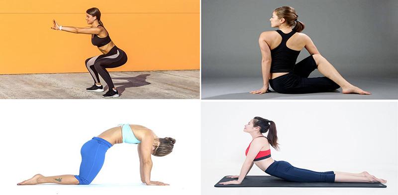 Top 9 bài tập yoga cho người thoái hóa khớp gối
