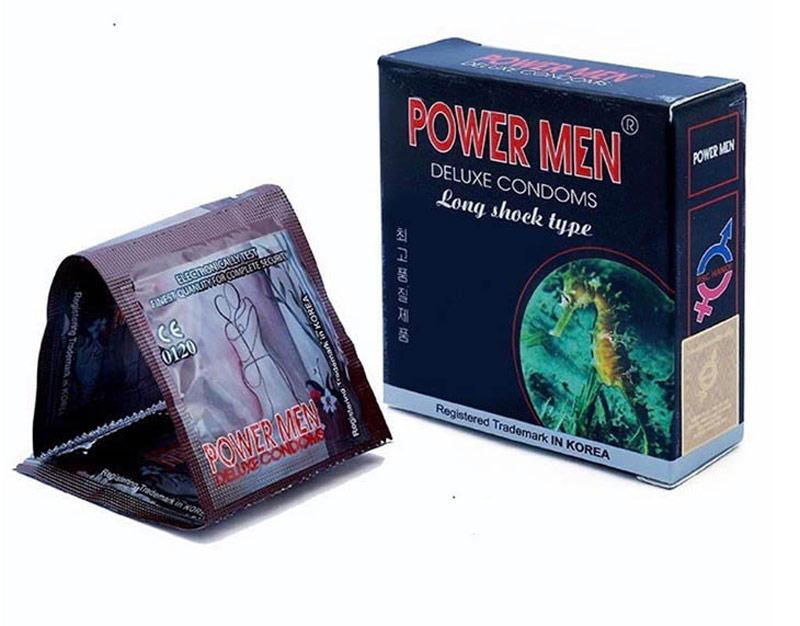 Power Men Deluxe Condoms - Sản phẩm được nam giới ưa chuộng nhất hiện nay