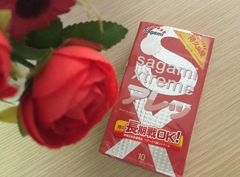 Bao cao su Sagami Xtreme giúp cuộc yêu nồng nhiệt trọn vẹn