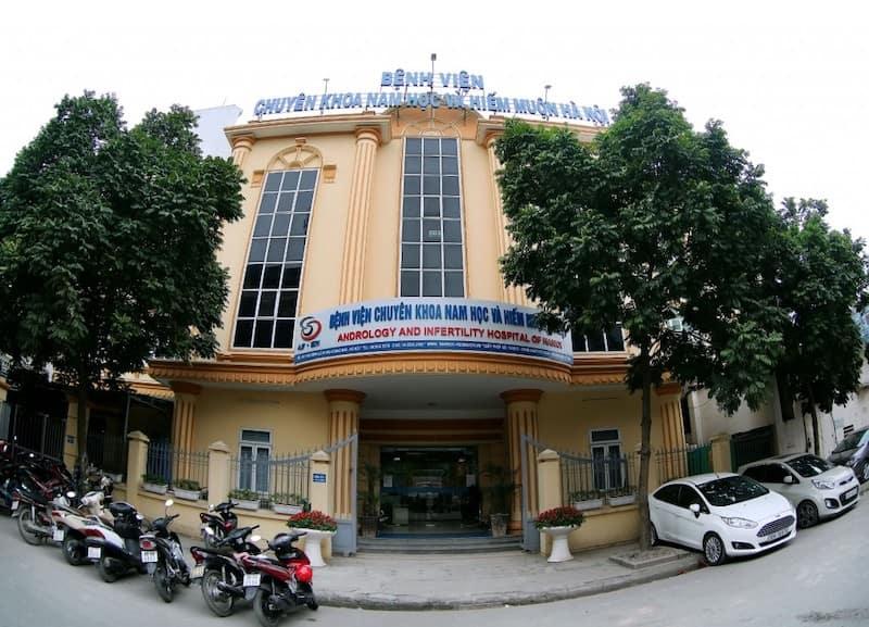 Bệnh viện Nam học và Hiếm muộn Hà Nội là địa chỉ uy tín để chữa bệnh