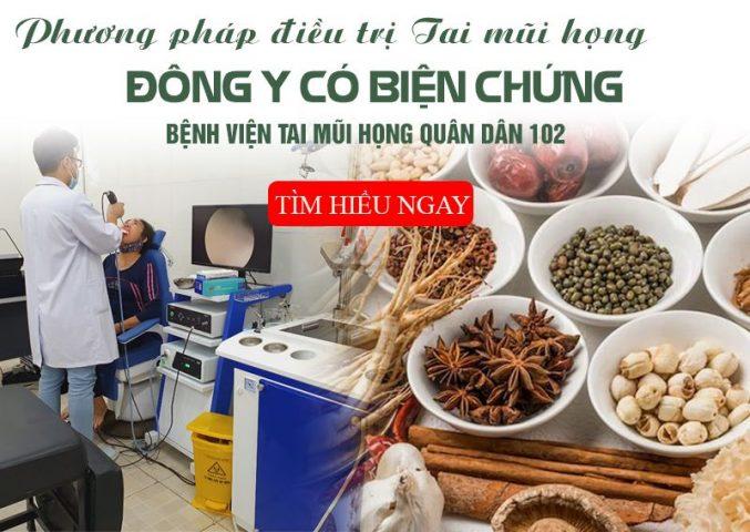 Bệnh viện Tai mũi họng Quân Dân 102: Hoàn thiện phương pháp điều trị bằng Đông y có biện chứng
