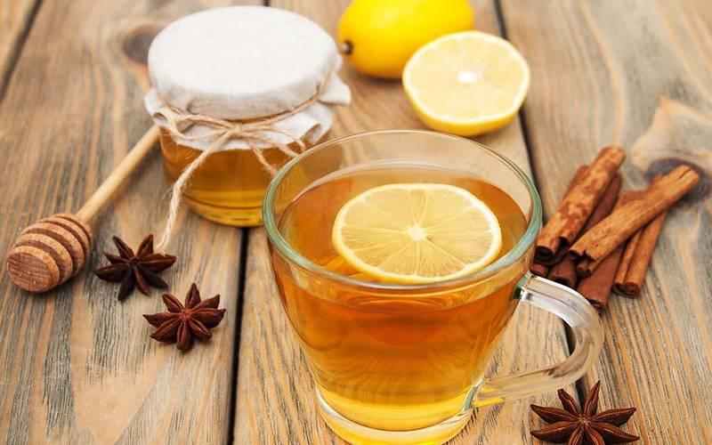 Trà chanh mật ong có công dụng kháng viêm, tiêu đờm hiệu quả