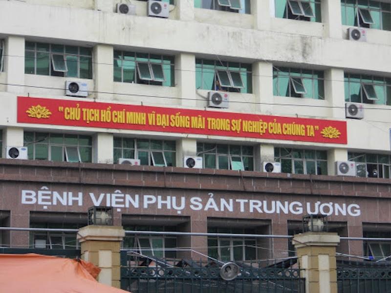 Khoa Nam học của Bệnh viện Phụ sản Trung Ương
