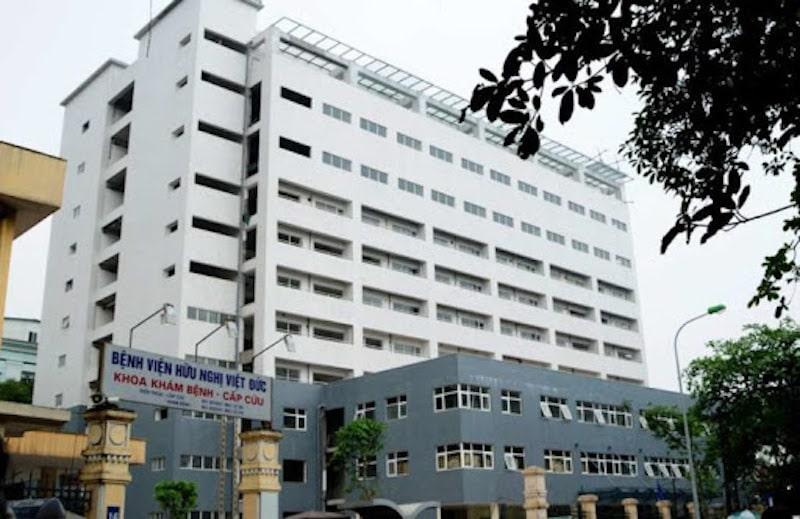 Điều trị tại bệnh viện hữu nghị Việt Đức