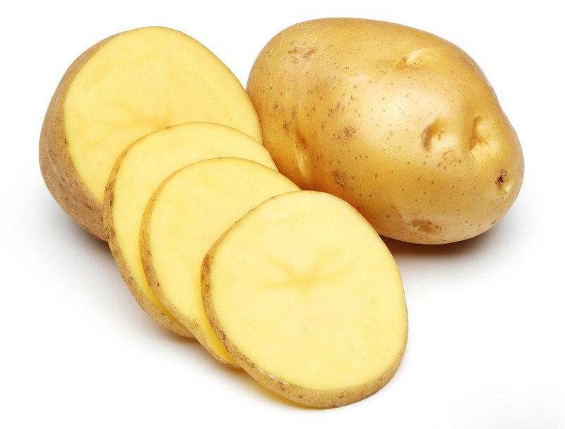 Phần nhựa của khoai tây cũng có khả năng kháng khuẩn, chống viêm nhiễm, xoa dịu tổn thương trên da