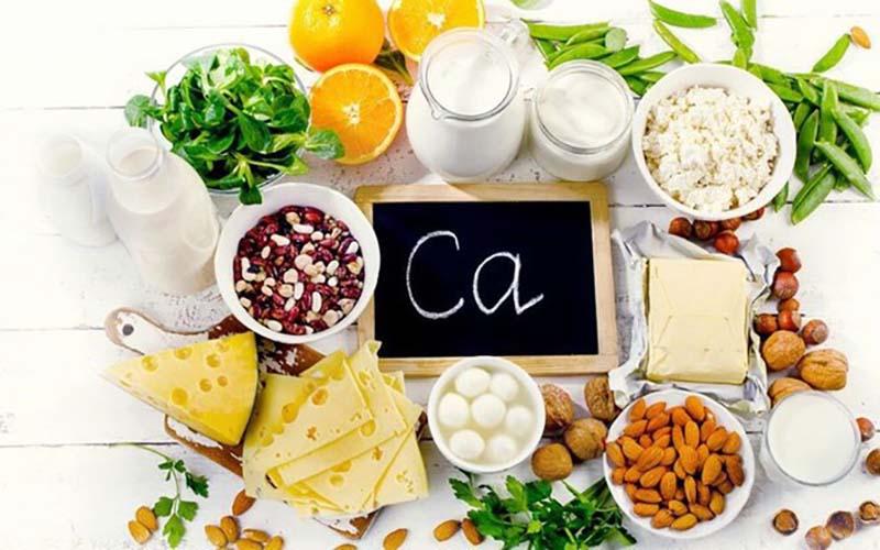 Thực phẩm là nguồn bổ sung canxi dễ dàng mà lại an toàn, hiệu quả
