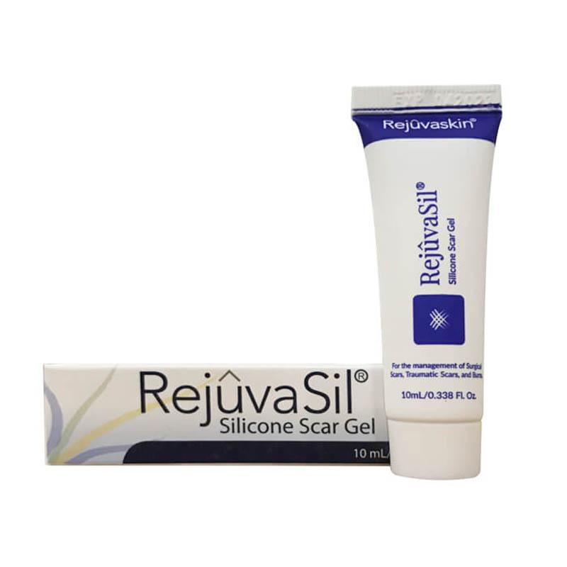 Kem trị sẹo Scar Rejuvasil có thành phần chính là: Silicone, Emu Oil, Squalene và Vitamin C.