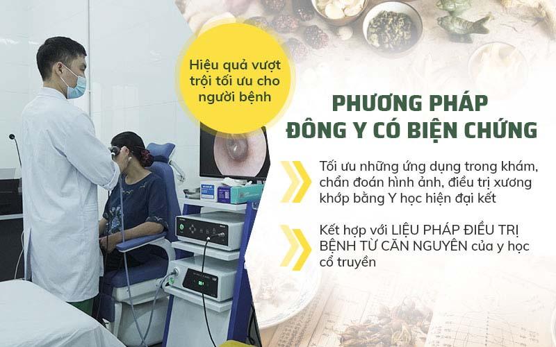 Phương pháp điều trị Tai mũi họng bằng Đông y có biện chứng