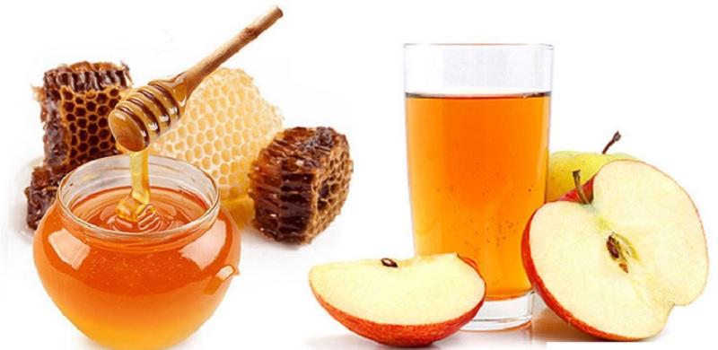 Mật ong kết hợp với dấm táo giúp sỏi thận nhanh tan