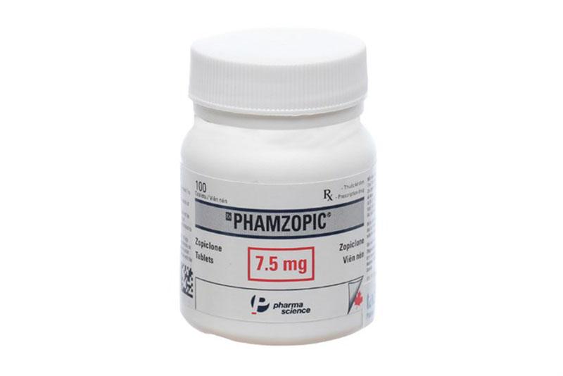 Phamzopic thuộc nhóm thuốc hướng tâm thần có xuất xứ từ Canada