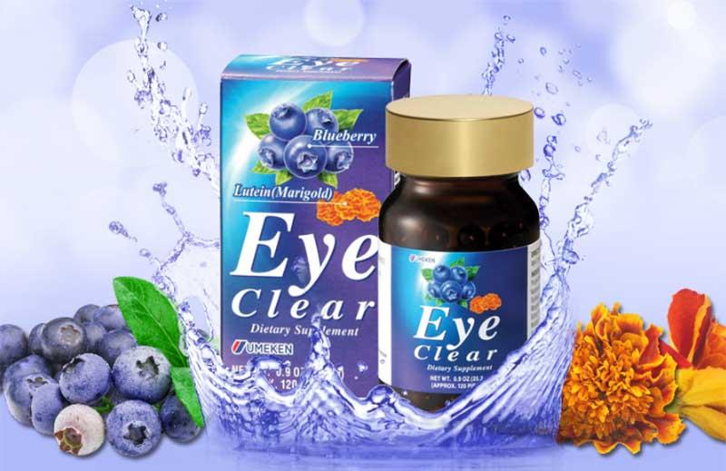 Eye Clear là sản phẩm được sản xuất tại Nhật Bản bởi hãng dược phẩm uy tín hàng đầu Umeken Japan