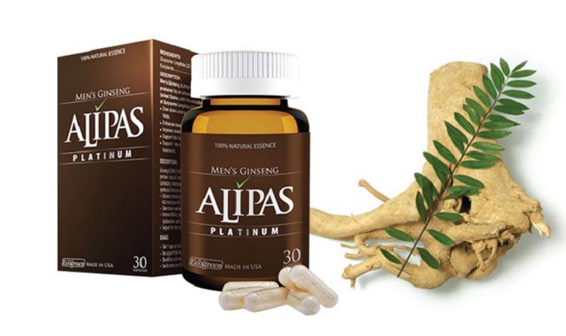 Sâm Alipas Platinum đã nổi tiếng trên thị trường từ lâu
