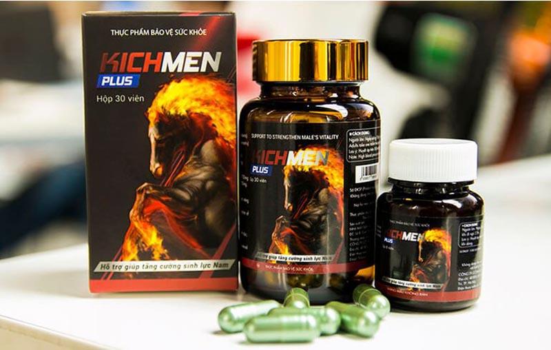 Viên uống giúp thúc đẩy quá trình sinh tổng hợp hormone sinh dục nam testosterone