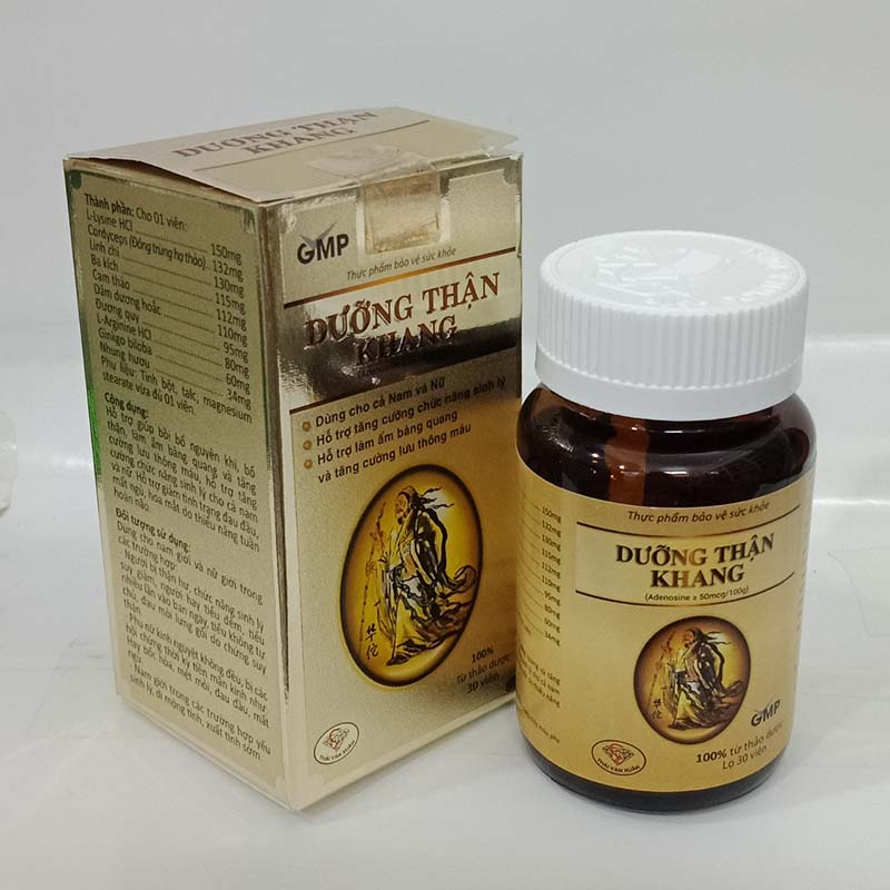 Dưỡng Thận Khang là sản phẩm chức năng được phát triển từ bài thuốc Đông y