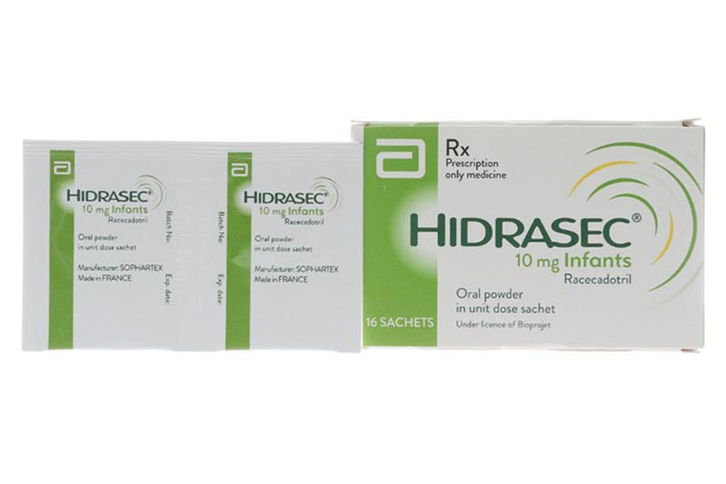 Racecadotril còn có những tên biệt dược khác như Resecadot, Hidrasec,…