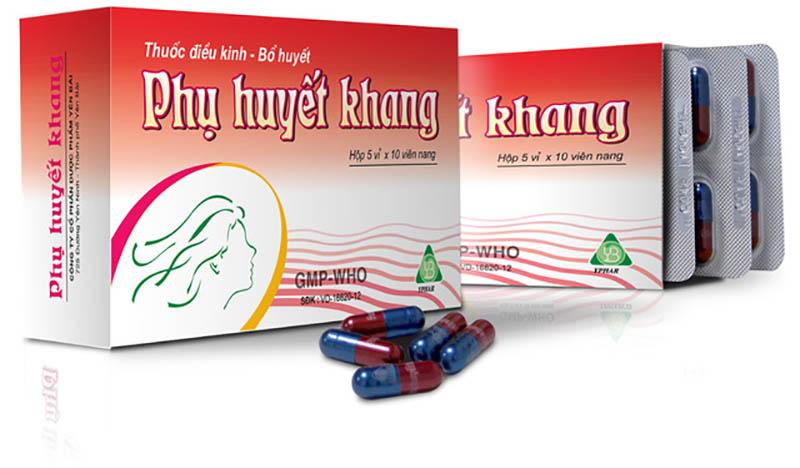 Phụ Huyết Khang gồm những thành phần từ thảo dược tự nhiên, ít gây ra tác dụng phụ