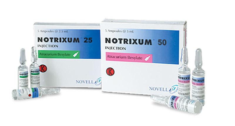 Thuốc Notrixum là thuốc kê đơn, được sử dụng theo chỉ định của bác sĩ