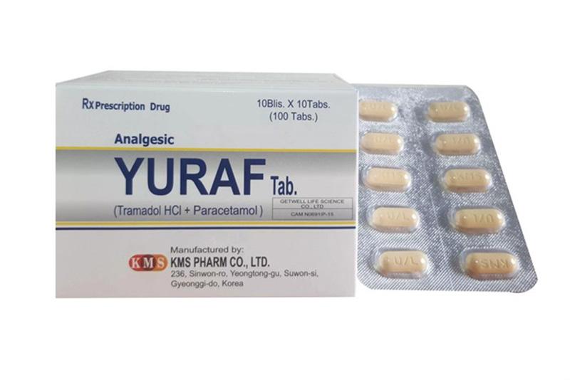 Yuraf là loại thuốc được dùng thay thế cho người bệnh không dung nạp Salicylat