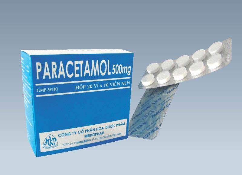 Paracetamol là loại thuốc giảm đau, hạ sốt thông dụng nhất hiện nay
