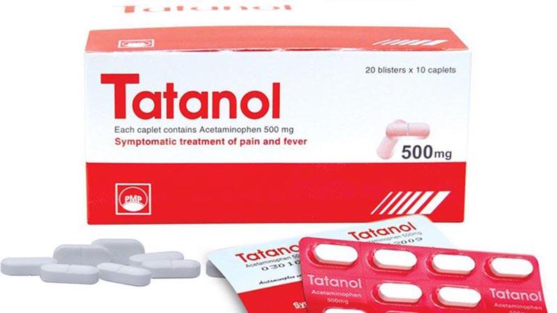 Tatanol 500 là sản phẩm công ty Bristol Myers Squibb