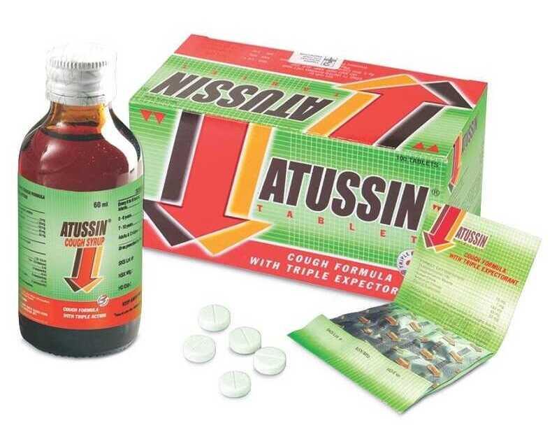 Thuốc trị ho hiệu quả cho bé Atussin