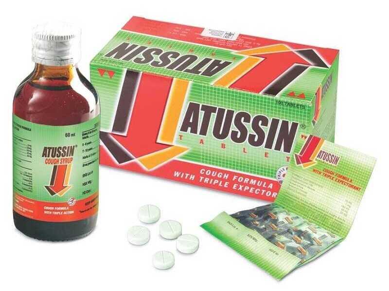 Thuốc trị ho khan cho người lớn hiệu quả Atussin